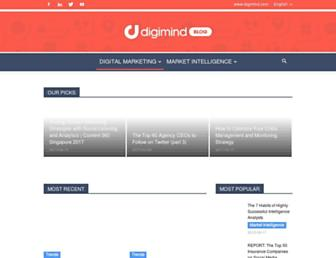 blog.digimind.com screenshot