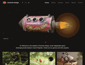 amanita-design.net screenshot