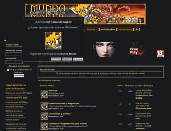 mundo-maker.com screenshot