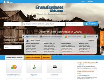 ghanabusinessweb.com screenshot