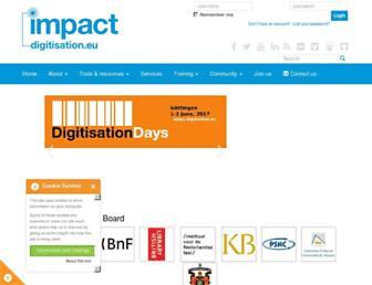 digitisation.eu screenshot