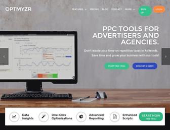 Thumbshot of Optmyzr.com