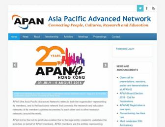 apan.net screenshot
