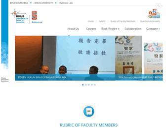business-law.binus.ac.id screenshot