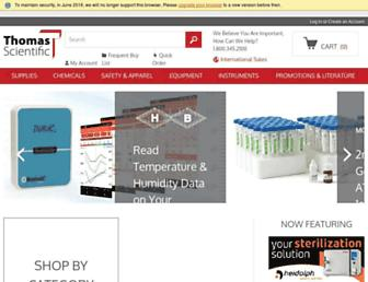 thomassci.com screenshot