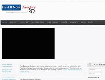Thumbshot of Finditnowdirectory.com.au