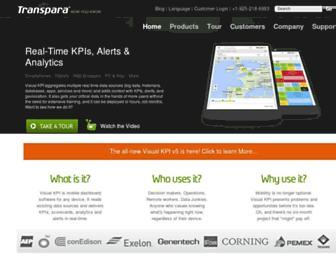 transpara.com screenshot