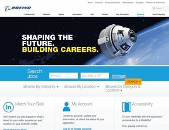 jobs.boeing.com screenshot