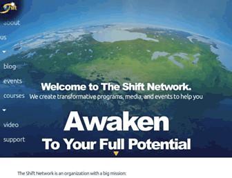 Thumbshot of Theshiftnetwork.com
