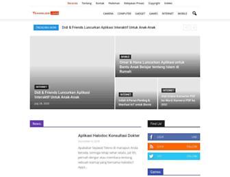 teknologi.info screenshot