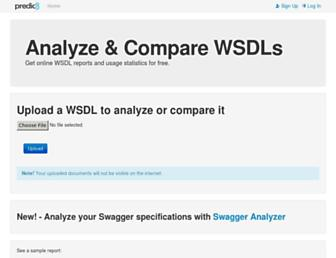 wsdl-analyzer.com screenshot