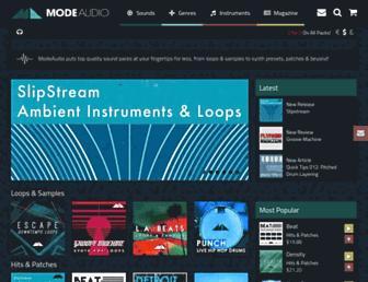 modeaudio.com screenshot