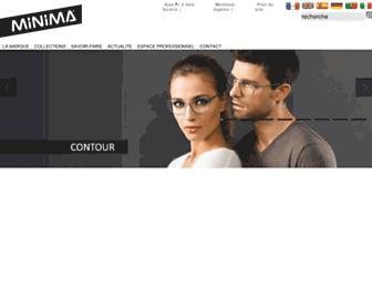 minima.fr screenshot