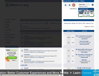 forums.isaserver.org screenshot