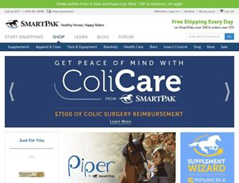 smartpakequine.com screenshot