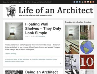 lifeofanarchitect.com screenshot