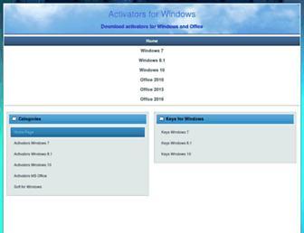 windows-activating.net screenshot