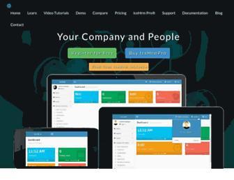 icehrm.com screenshot