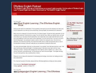 effortlessenglish.libsyn.com screenshot