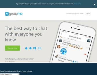 Thumbshot of Groupme.com