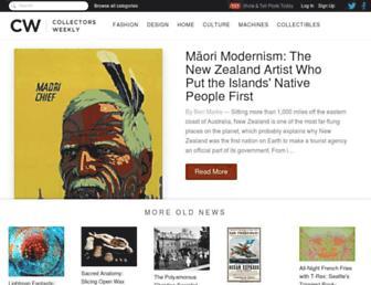 Thumbshot of Collectorsweekly.com