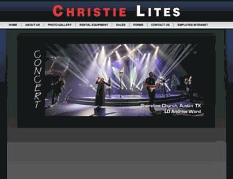 christielites.com screenshot
