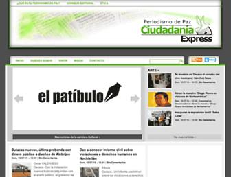 ciudadania-express.com screenshot