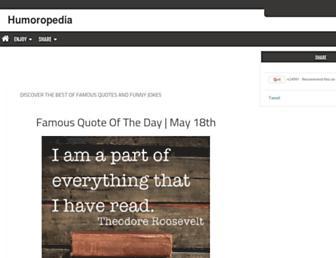 humoropedia.com screenshot