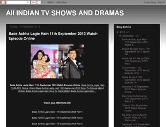 indianserialsjan.blogspot.com screenshot