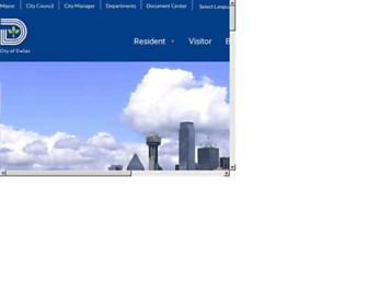 dallascityhall.com screenshot