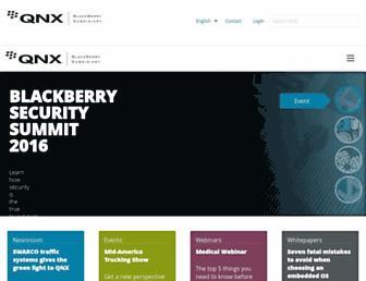 qnx.com screenshot