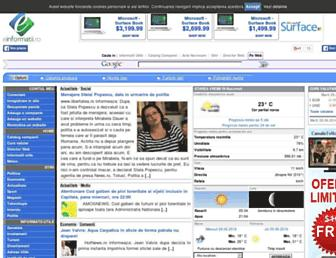 einformatii.ro screenshot