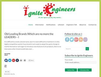 igniteengineers.com screenshot