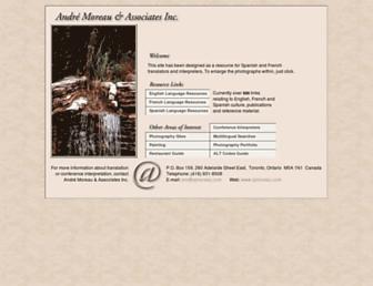 ajmoreau.com screenshot