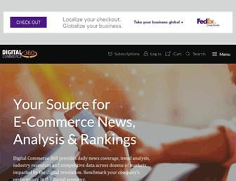 digitalcommerce360.com screenshot