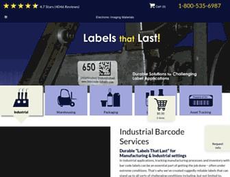 barcode-labels.com screenshot