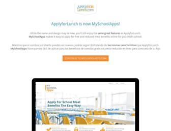 Thumbshot of Applyforlunch.com