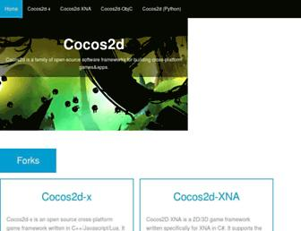 Thumbshot of Cocos2d.org