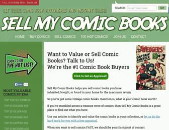 sellmycomicbooks.com screenshot
