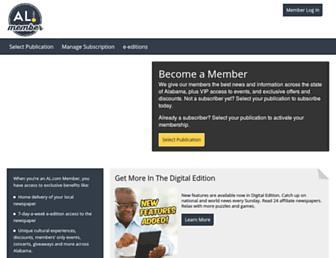 member.al.com screenshot