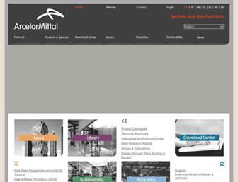 sections.arcelormittal.com screenshot