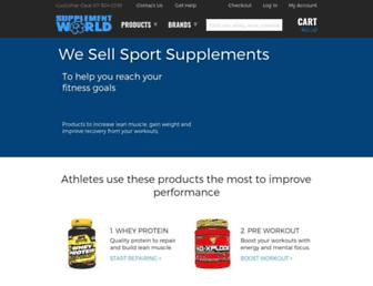 Thumbshot of Supplementworld.co.za