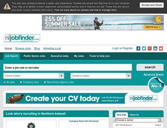 Thumbshot of Nijobfinder.co.uk