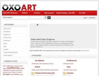 oxoart.com screenshot