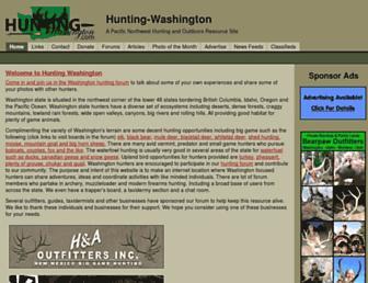 hunting-washington.com screenshot