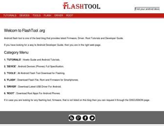 flashtool.org screenshot