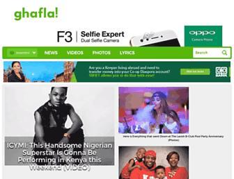 ghafla.com screenshot