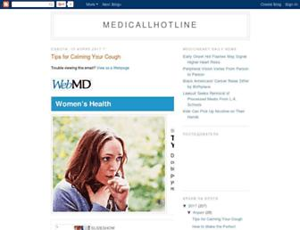 medicallhotline.blogspot.com screenshot