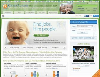 greataupair.com screenshot