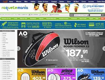 Thumbshot of Raquetemania.com.br